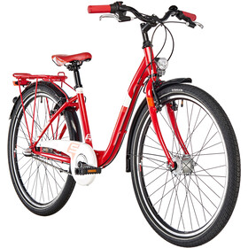 s'cool chiX 26 3-S - Vélo junior Enfant - steel rouge